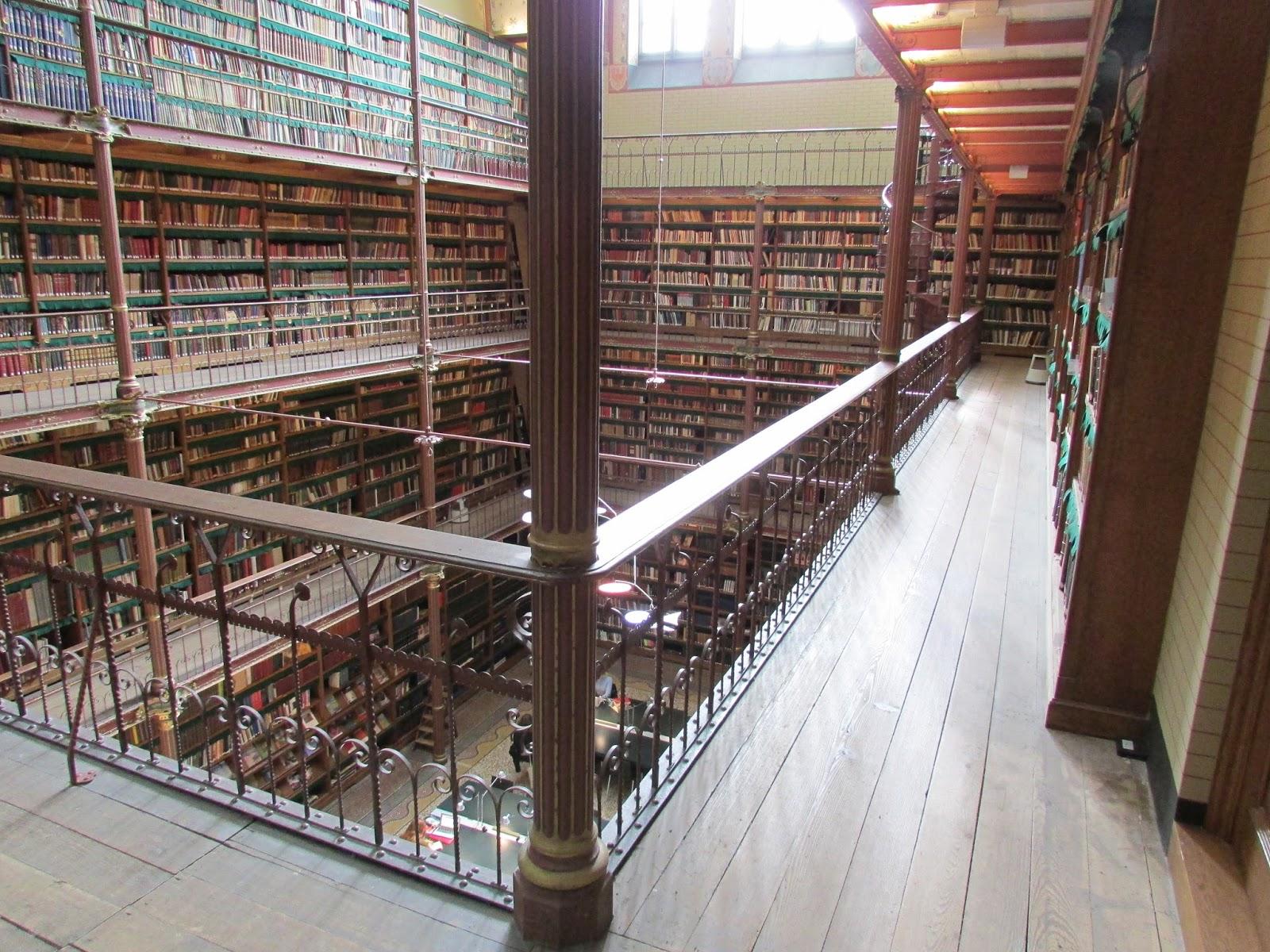 Library, Rijksmuseum - Amsterdam