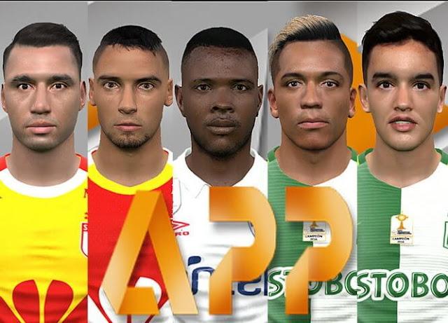 Facepack Conmebol Libertadores PES 2017