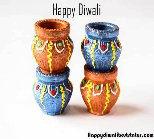 Handmade Diwali Greeting Card