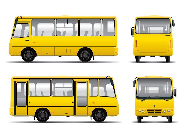 Bus  Vector Free Vector