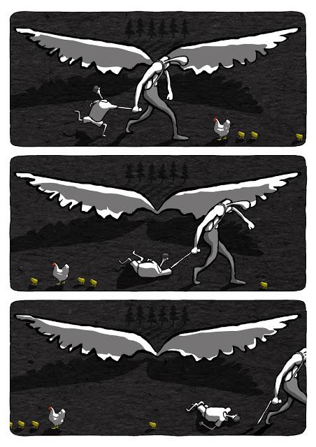 I'll teach you to fly!