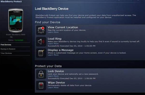 Ponsel blackberry hilang atau terjatuh di jalan yang lokasinya tidak diketahui Cara Melacak HP Blackberry Yang Hilang Dengan Cepat