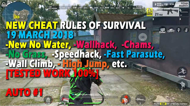 Cheat Rules of Survival Serin 5.0 Update 19 March 2018 !