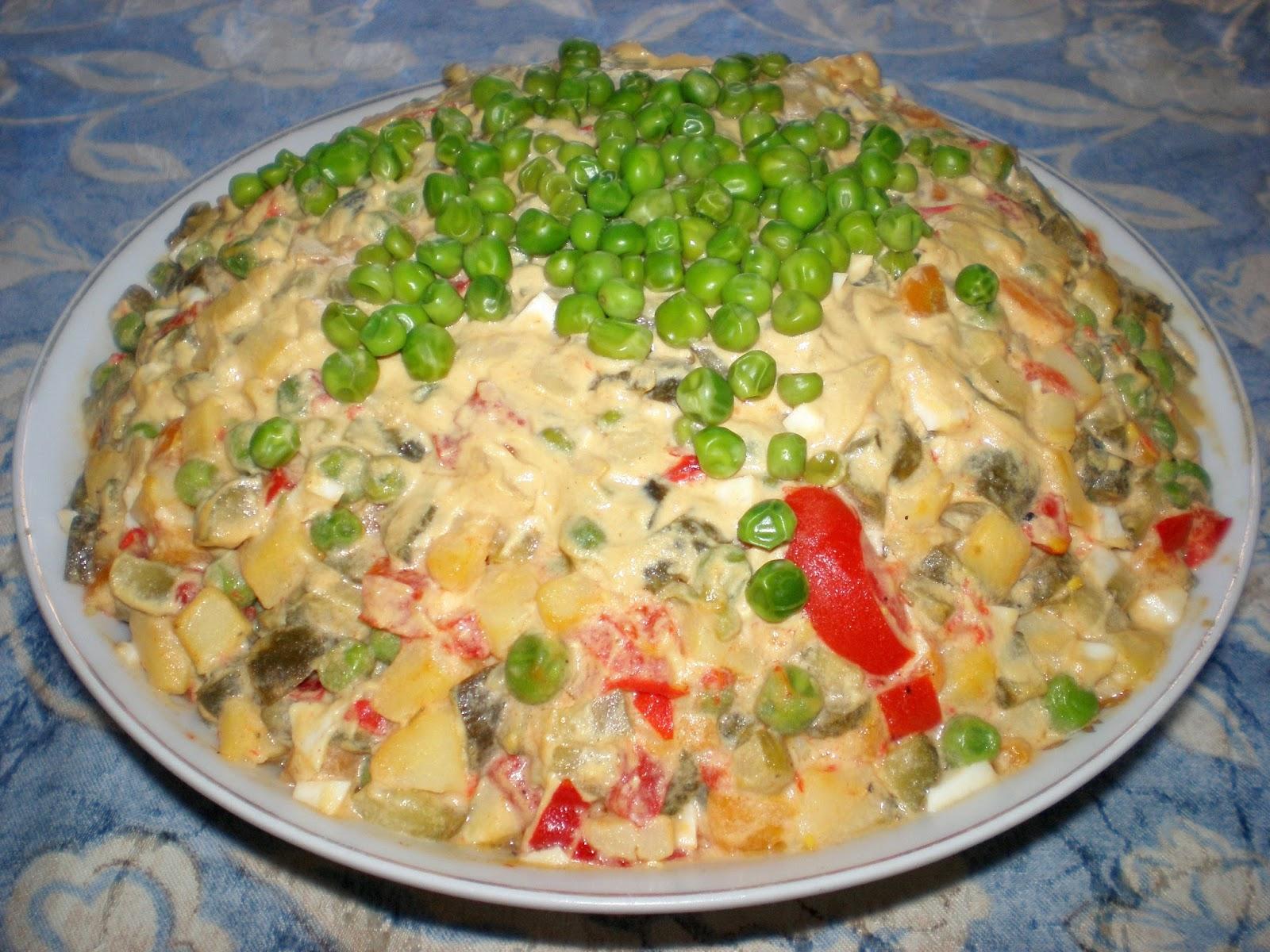 Salată Boeuf de post