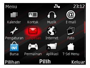 2ozen Candy theme for nokia C3