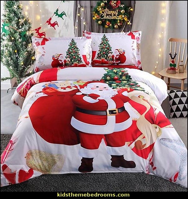 Christmas decorating ideas - Christmas decor -  Christmas pillows - Christmas decorations - Christmas kitchen decor - santa belly pillows - Santa Suit Duvet covers - Christmas bedding - Christmas bedroom decor - winter decorating ideas - winter wonderland decorating - Christmas Stockings Holiday decor Santa Claus - decorating for Christmas - 3d Christmas cards - xmas tree decor