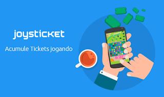 Joysticket - Ganhe Prêmios jogando e se divertindo!