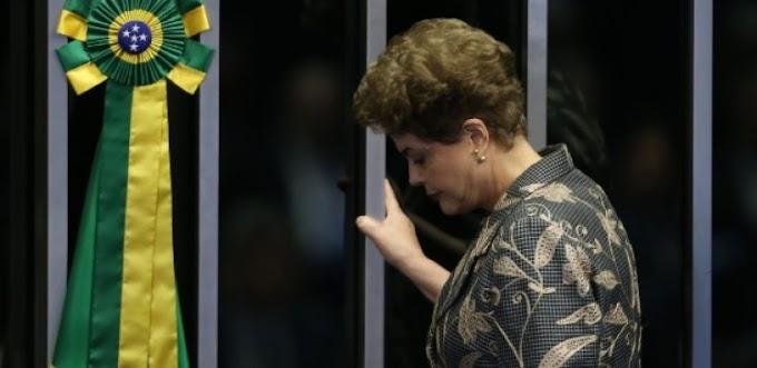 Por 61 votos a 20, Dilma Rousseff é definitivamente afastada da presidência.