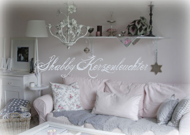 shabby chic kerzenleuchter bilder von zufriedenen kundinnen cottagedreams. Black Bedroom Furniture Sets. Home Design Ideas