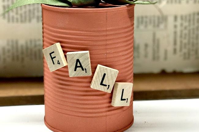 Aluminum Can Fall Pumpkins