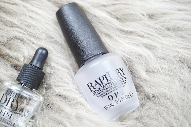 Manicure Mondays, OPI, Quick Dry, Nails, Manicure, Beauty, Drip Dry, Quick Dry Top Coat, RapiDry, Nail Polish, Nail Lacquer, Lacquer, Drying, Drops, Drying Drops, Boots, Nail Polish Review, Top Coat
