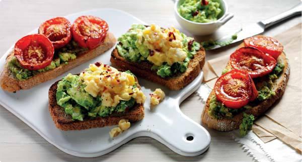 Balsamic Roasted Tomato and Avocado Toasties Recipe