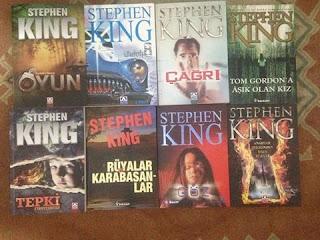 Kitap alış-verişi, kitap, Stephen King, Çömez, İzmir, Sevgi Yolu, Kenar Kitapevi, Doğan Kitapevi, Ege Kitap ve Plakevi