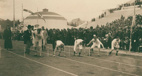 Atletisme, Estadi Panatinaico, Atenes