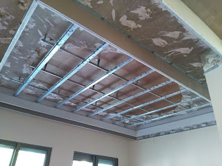 طريقة عمل سقف الجبس