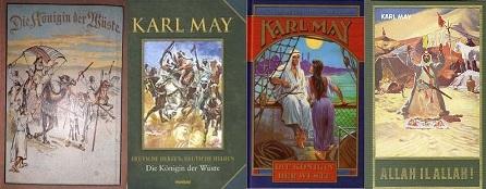 Karl May A sivatag úrnője külföldi kiadások