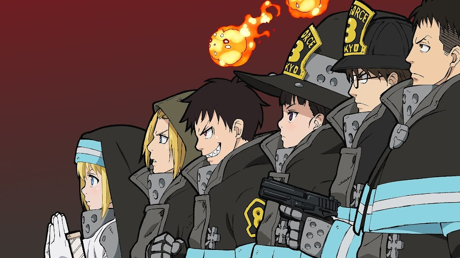 Fire Force Special Fire Force Company 8 Characters 4k Wallpaper 1 Drop pics of your favorite characters from this summers seasonal anime here's some of my favorites fire force special fire force company 8