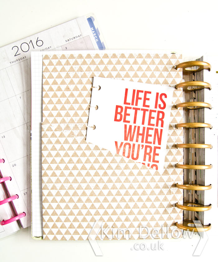 Some MAMBI Happy Planner extras