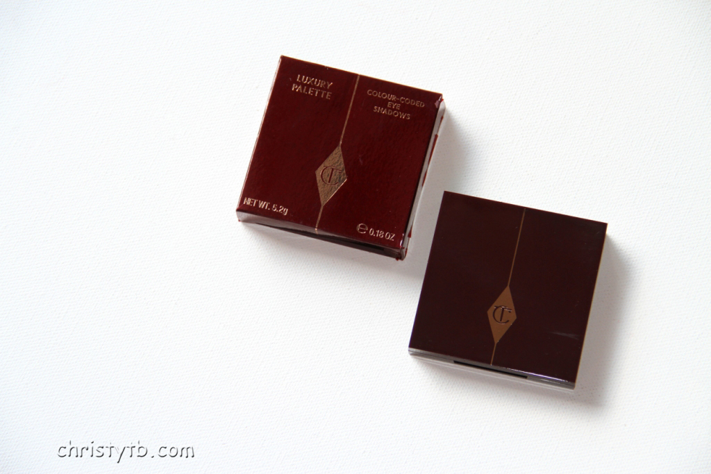 "Макияж с тенями Charlotte Tilbury luxury palette colour-coded eye shadows ""The Uptown Girl"""