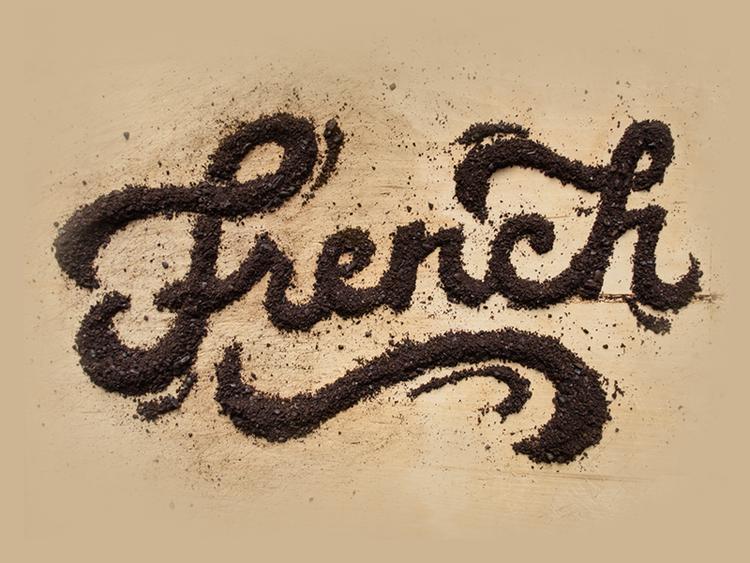 tipografia organica com alimentos 05 - Tipografia Orgânica com Alimentos