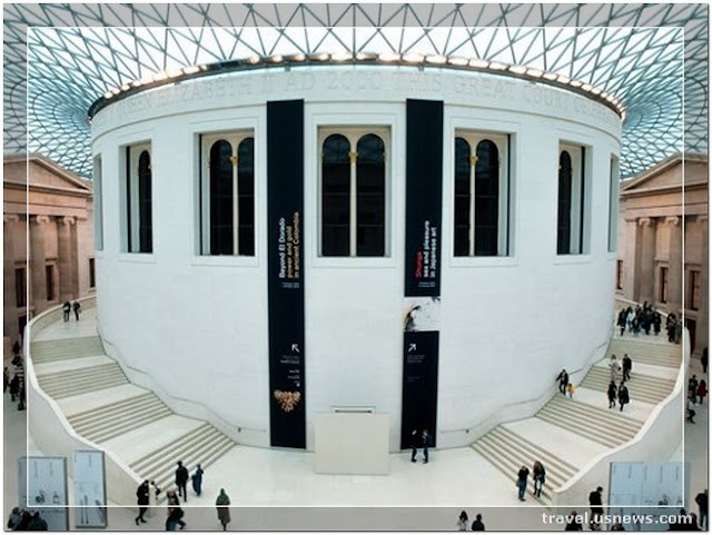 British Museum  - Top 7 Best Places to Travel in London, England at Least Once in Your Life Time
