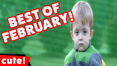 Funniest Cute Kids Video Bloopers Best of February Monthly Compilation