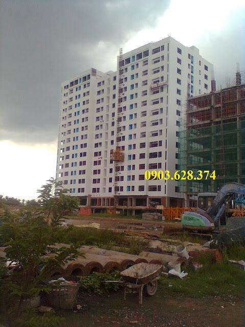 Cập nhật tiến độ xây dựng Dự án Căn hộ 4S Linh Đông