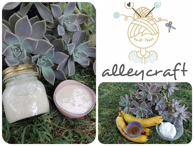 diy hair mask alleycraft