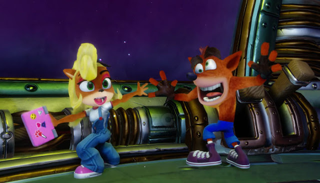 Crash bandicoot and coco n.sanity