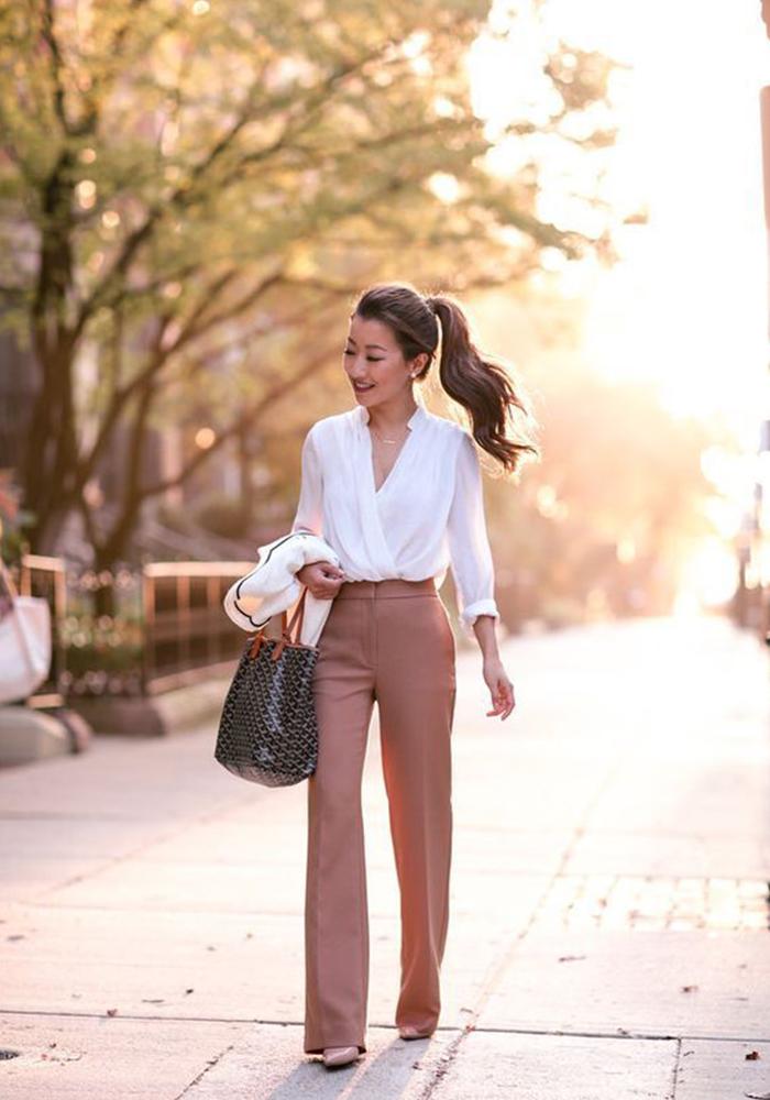 entrevista de trabajo outfit