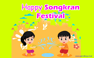 Songkran Water Festival Wishes