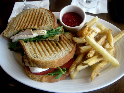 Pressed Chicken Caprese Panini at Melt in Center Valley, PA - Photo by Taste As You Go