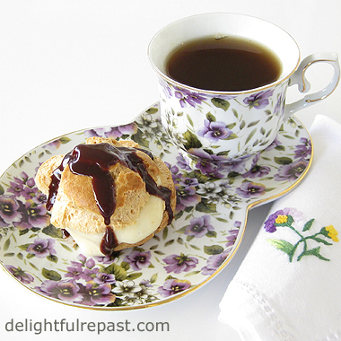 Sugar - Toxin or Treat? / Cream Puffs, Eclairs and Profiteroles / www.delightfulrepast.com
