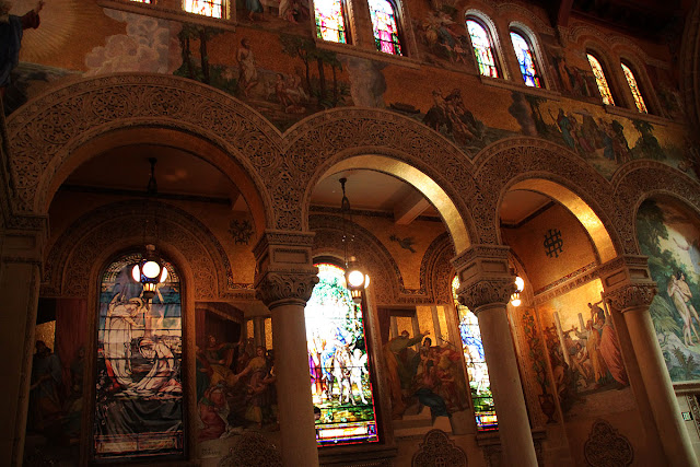 Stanford Memorial Church, Stanford University.