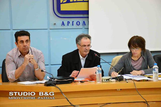 Δημοτικό Συμβούλιο στο Ναύπλιο με 21 θέματα στις 4 Ιουνίου