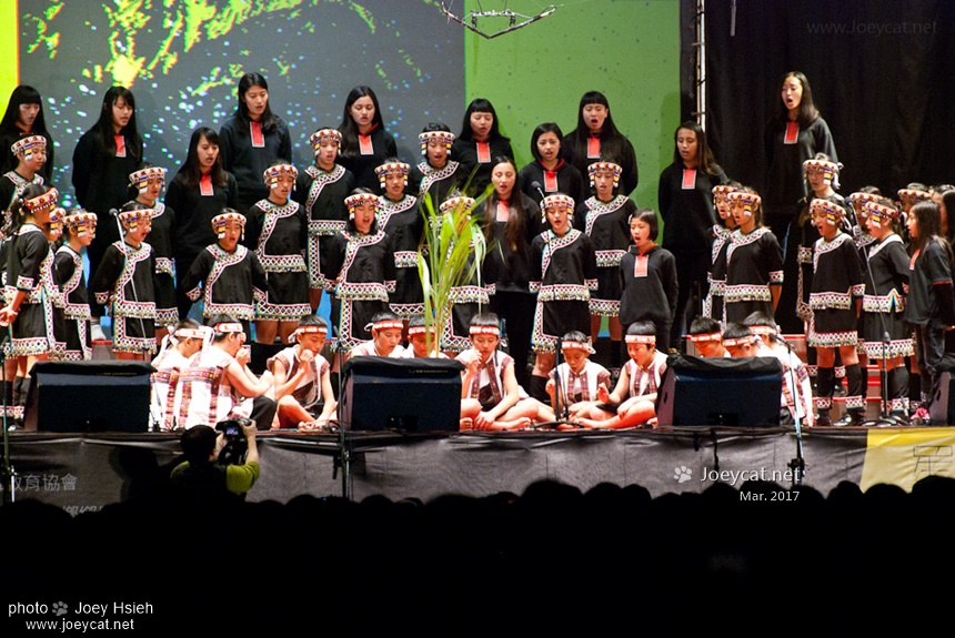 拍手歌 台灣原聲童聲合唱團 KIPAHPAH IMA 玉山星空音樂會 2017 羅娜國小