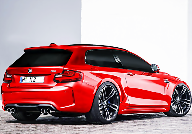 BMW  M2 Shooting Brake