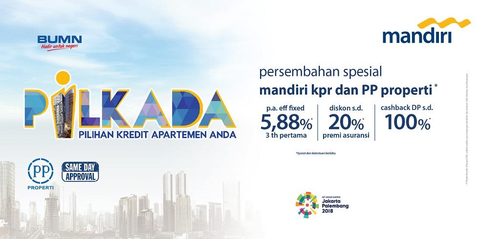 Bank Mandiri - Promo KPR Pilihan Kredit Apartemen Anda (PILKADA)