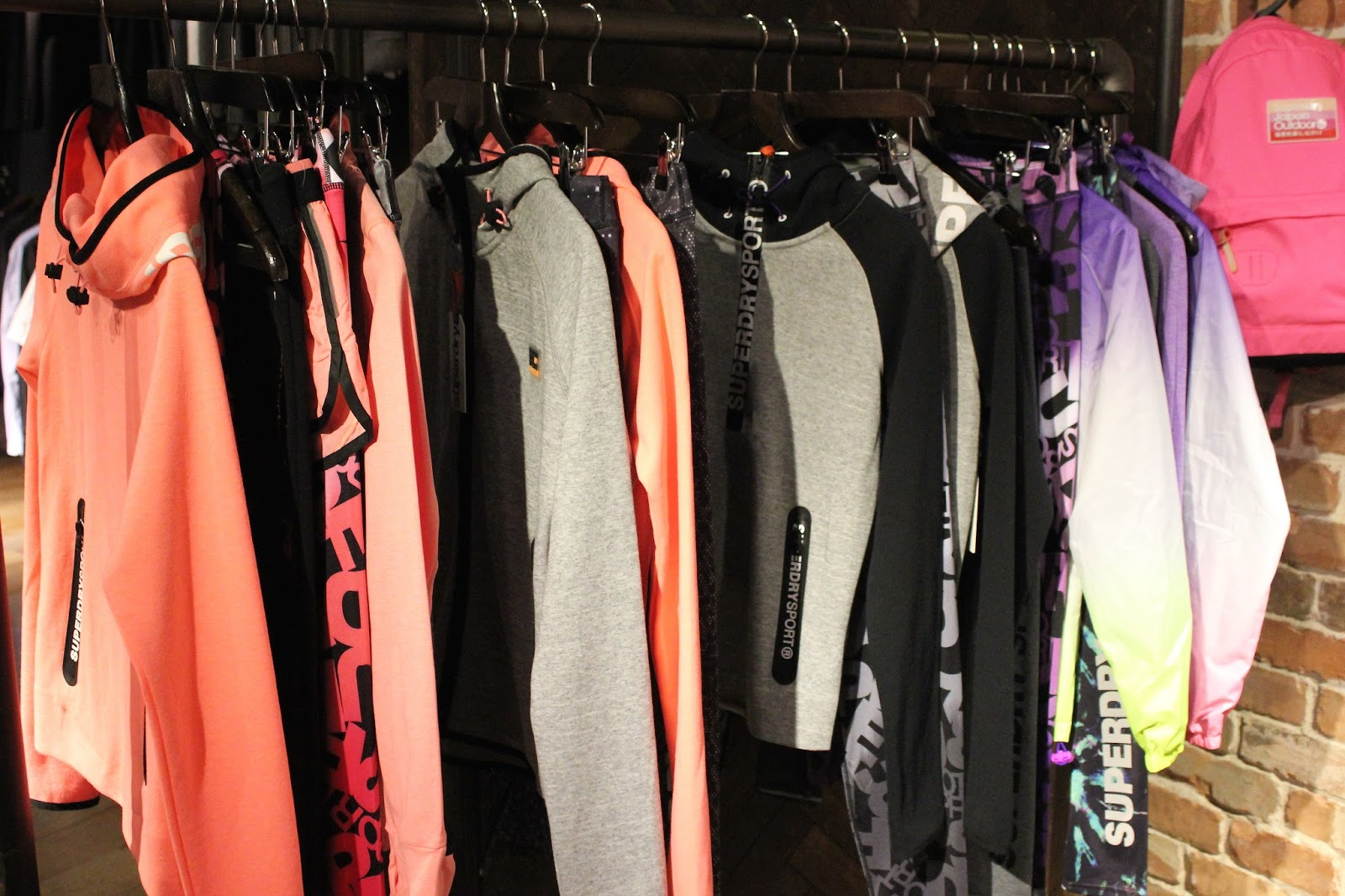 superdry spring summer 2016 fashion press day featuring boho, floral and sport styles
