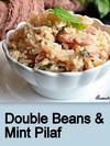 Double Beans & Mint Pilaf