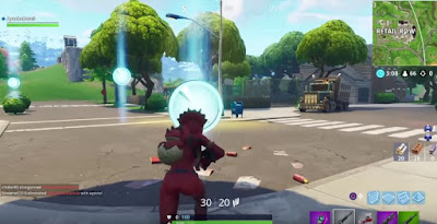 Fortnite, Timed Trials, Stopwatch Locations Map, Retail Row