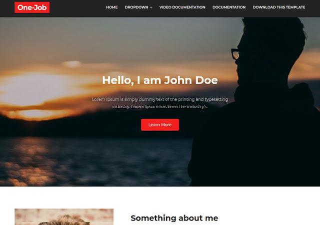 OneJob Blogger Theme