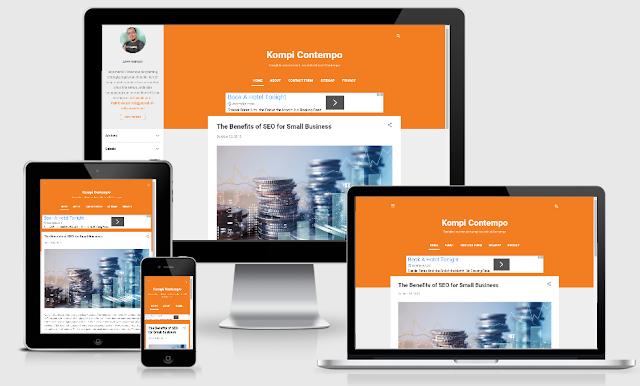 Redesign Contempo Blogger Template, Simpel dan Super Wuss