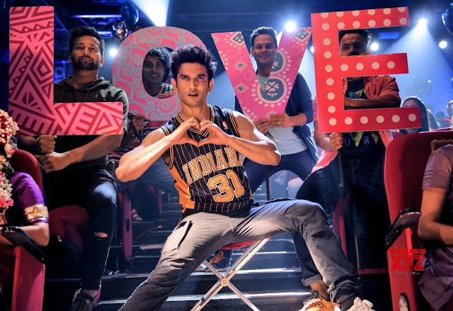 Sushant Singh Rajput in a still from Dil Bechara
