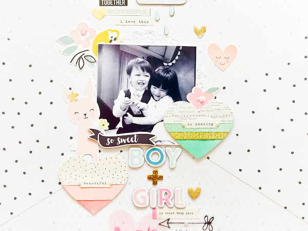 Crate Paper Design Team : Boy + Girl