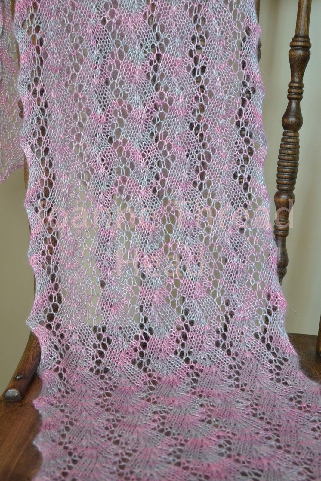 Perfecto Lacy Crochet Scarf Patterns Free Viñeta - Manta de Tejer ...