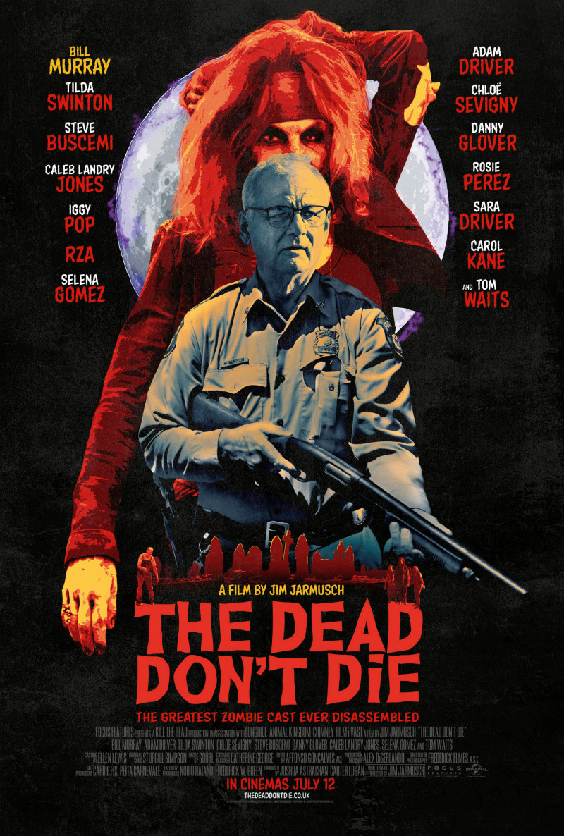 The Dead Don't Die poster bill murray