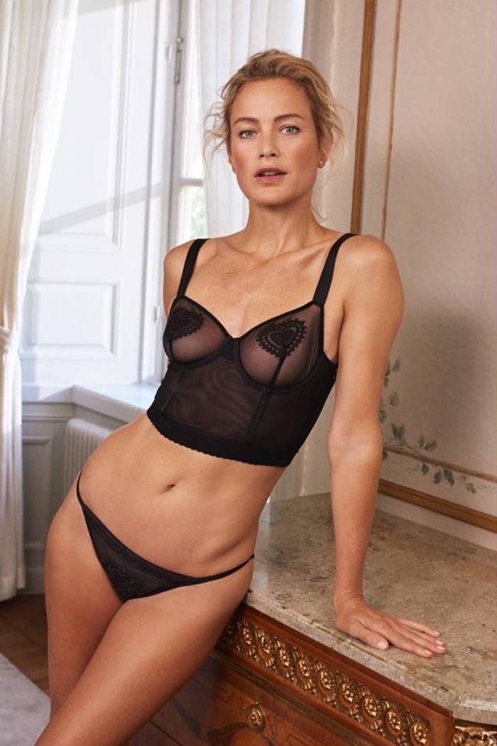 H&M Lingerie - Mesh Bustier and Mesh Bikini Briefs