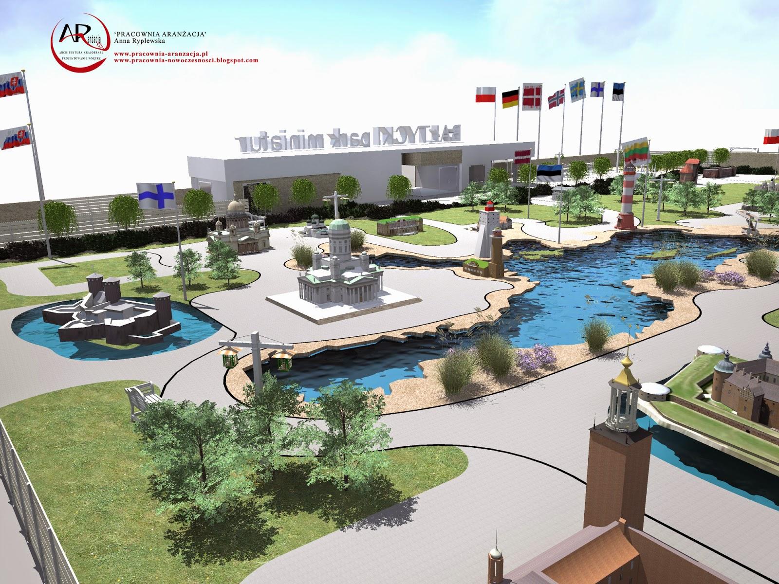 projektowanie i realizacja parku nowoczesnego