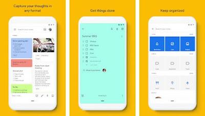 Google Keep - catatan & daftar
